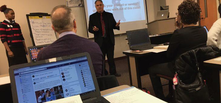 Social Media Training with Martin Brossman